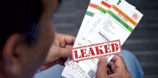 Aadhar Leak