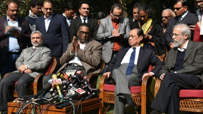 Supreme Court Judge Press Conference